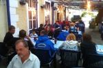 Abendessen beim Griechen